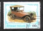 Sellos del Mundo : Africa : Togo : Automoviles Antiguos
