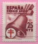 Sellos del Mundo : Europa : España :  Pro Tuberculosos ( Cruz d´Lorena en rojo)