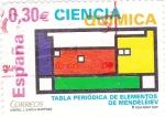 Sellos de Europa - España -  TABLA PERIÓDICA DE ELEMENTOS DE MENDELEIEV (39)