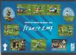 Sellos de Europa - Francia -  Jugada de ensayo en rugby