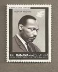Sellos del Mundo : Asia : Bahrein : Luther King
