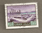 Sellos del Mundo : Asia : Líbano : 1967 Año Internacional Turismo