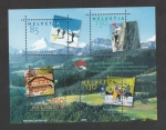 Sellos de Europa - Suiza -  100 Aniv. asociacion suiza amigos de la naturaleza