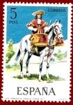 Sellos de Europa - España -  Edifil 2170 Timbalero de caballos coraza 5 NUEVO