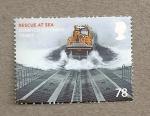 Sellos de Europa - Reino Unido -  Rescate en el mar