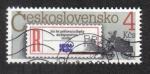 Sellos de Europa - Checoslovaquia -  Etiqueta de matriculación y correo electrónico.
