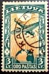 Sellos del Mundo : Europa : Lituania : Lituania. 1934
