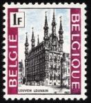 Sellos del Mundo : Europa : Bélgica : BÉLGICA: Campanarios de Bélgica y Francia