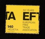 Sellos de Europa - Suiza -  Asociación Europea de Libre Comercio