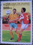 Sellos del Mundo : Africa : Guinea : 1998 World Cup Soccer Championships, France