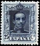 Sellos del Mundo : Europa : España : sello alfonso XIII tipo vaquer