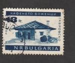 Sellos de Europa - Bulgaria -  Casa campesina