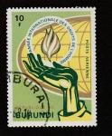 Sellos de Africa - Burundi -  Año Internacional de los Derechos del Ho0mbre