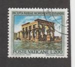Sellos de Europa - Vaticano -  Ruinas nubias