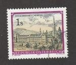 Sellos de Europa - Austria -  Abadía de Mehrerau