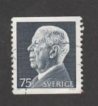 Sellos de Europa - Suecia -  Rey Gustavo Adolfo