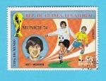 Sellos del Mundo : Africa : Guinea_Ecuatorial : MUNICH  74   BEST