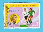 Sellos del Mundo : Africa : Guinea_Ecuatorial : MUNICH  74