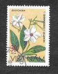 Sellos de Asia - Vietnam -  887 - Flores Silvestres