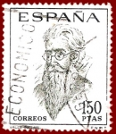 Sellos del Mundo : Europa : España : Edifil 1758 Valle-Inclán 1,50