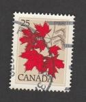 Sellos de America - Canadá -  Hojas de arce