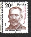 Sellos del Mundo : Europa : Polonia :  70 aniversario de la República independiente, Julian Marchlewski
