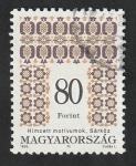 Sellos de Europa - Hungría -  3559 - Motivo decorativo popular