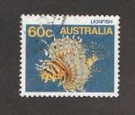 Sellos de Oceania - Australia -  Pez León