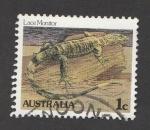 Sellos de Oceania - Australia -  Varano arborícola