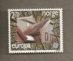 Sellos del Mundo : Europa : Noruega : Arquitectura Moderna, Europa