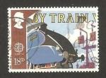 Sellos de Europa - Reino Unido -  1311 - Europa Cept, Tren