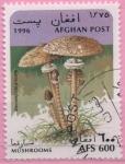 Sellos del Mundo : Asia : Afganistán : Macrolepiota procera