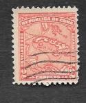 Sellos de America - Cuba -  254 - Mapa de Cuba