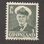 Sellos de Europa - Groenlandia -  rey Federico IX