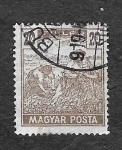 Sellos de Europa - Hungría -  115 - Cosechando Trigo