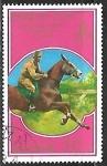 Sellos de Asia - Corea del norte -  Pre-Olympics Moscow 1980 - Equitacion