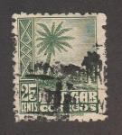 Sellos de Africa - Marruecos -  Palmera (Tanger)
