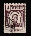 Sellos de America - Perú -  Toribio de Luzuriaga