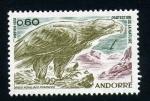 Sellos del Mundo : Europa : Andorra : Aguila real de los Pirineos