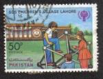 Sellos del Mundo : Asia : Pakistán : Llamada de socorro Aldea Infantil Lahore - Año Internacional del Niño