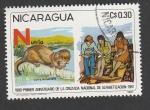 Sellos de America - Nicaragua -  Nutria