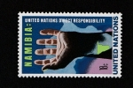 Sellos del Mundo : Africa : Namibia :  Responsabilidad directa ONU