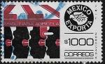 Sellos de America - México -  México Exporta Maquinaria Agrícola