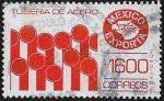Sellos del Mundo : America : México :  México Exporta Tubería de Acero