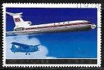 Sellos de Asia - Corea del norte -  Aviones