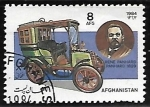 Sellos de Asia - Afganistán -  Panhard Limosine (1899)