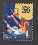 Sellos de America - Estados Unidos -  El Circo