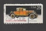 Sellos de America - Estados Unidos -  Autos clásicos: Locomobile 1928