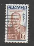 Sellos de America - Canadá -  Sir William Osler