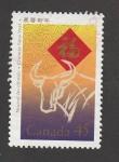 Sellos de America - Canadá -  Año Nuevo Chino